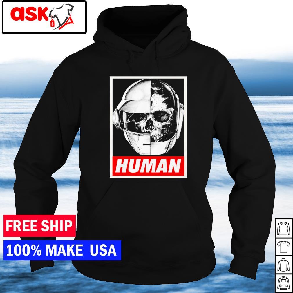 Daft Punk helmet human s hoodie