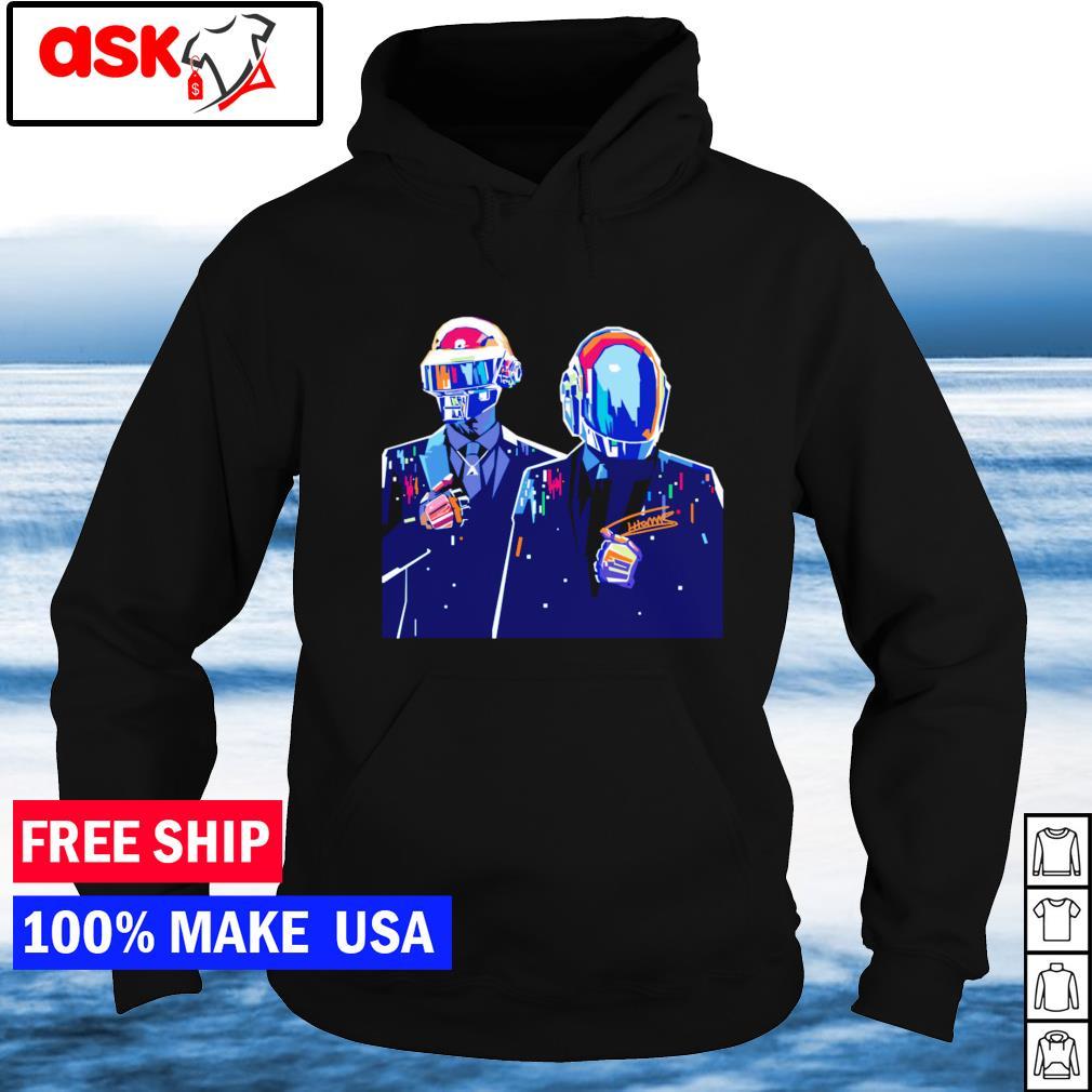 Daft Punk signature s hoodie