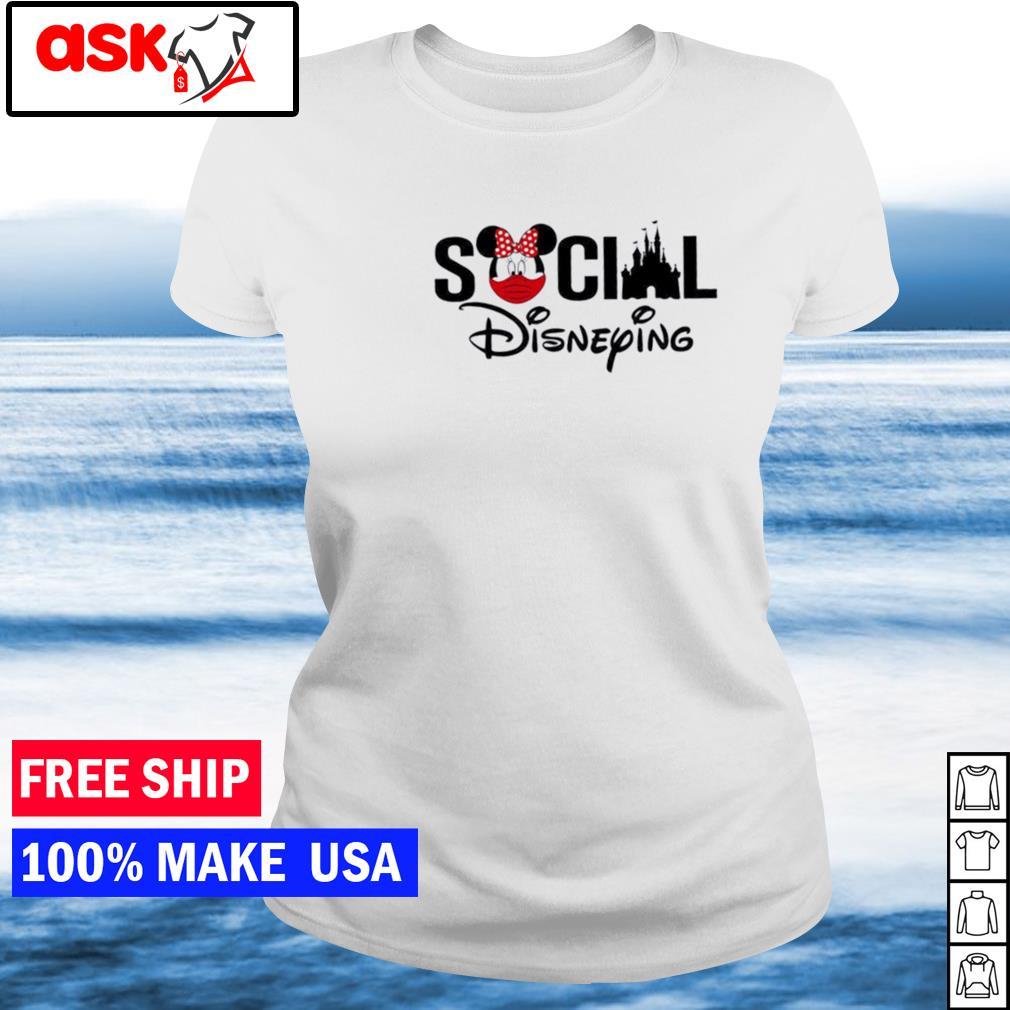 Disney social disneying s ladies tee
