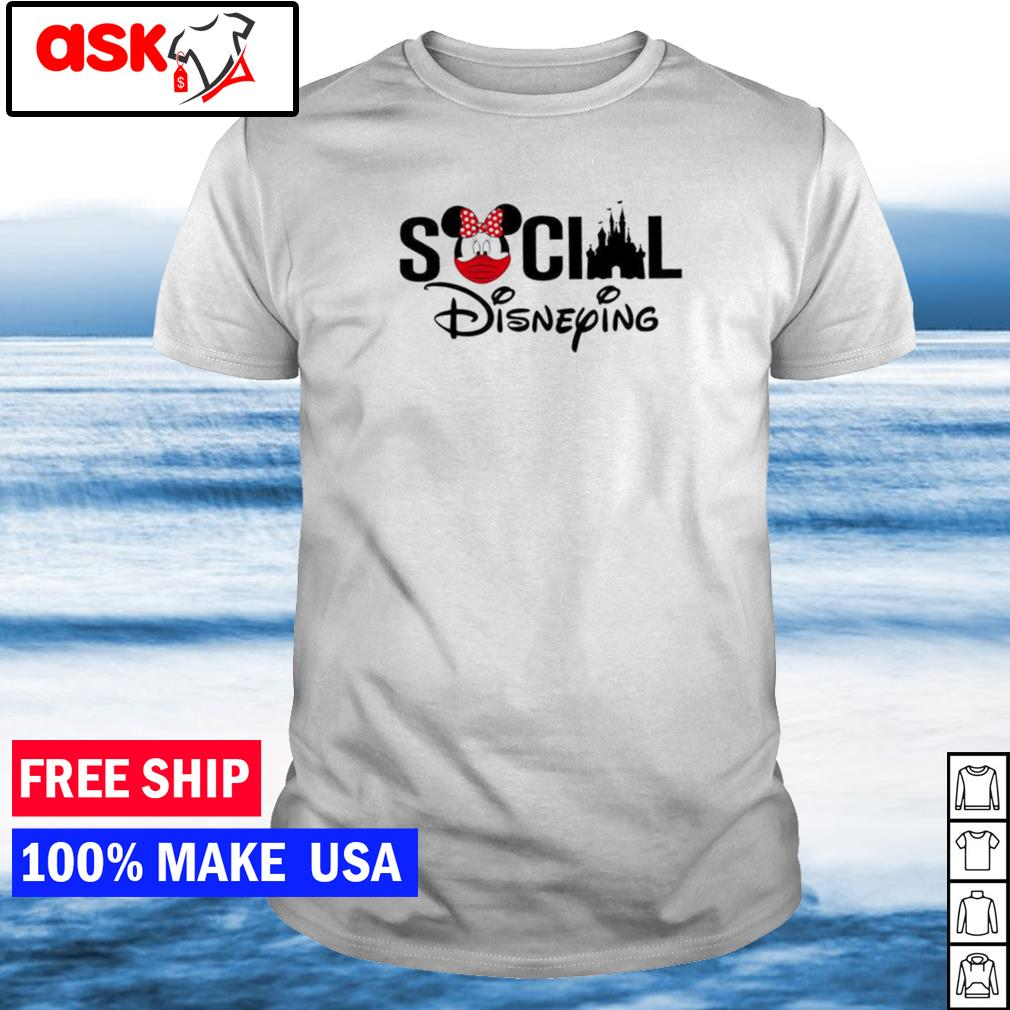 Disney social disneying shirt