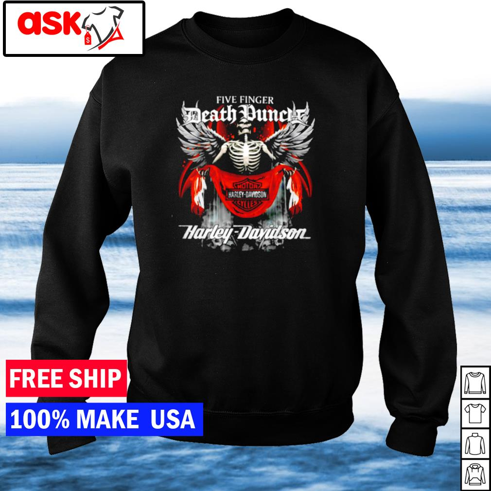 Five Finger Death Punch Death Motor Harley Davidson Cycles s sweater