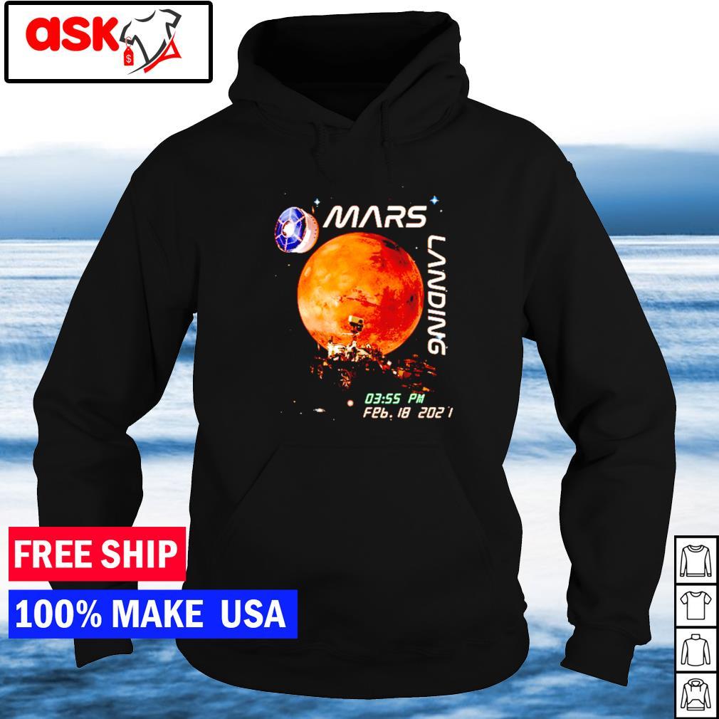Mars landing february 18 2021 s hoodie