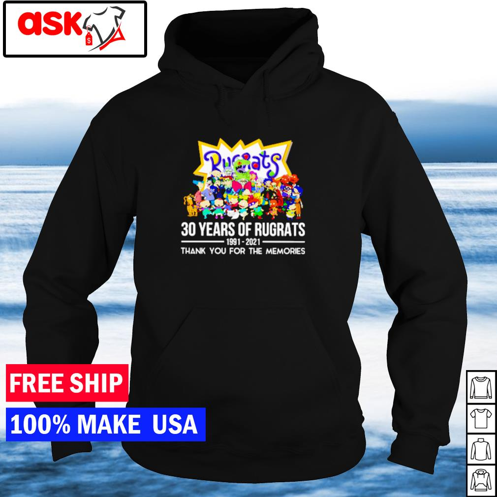 30 years of Rugrats 1991-2021 thank you for the memories s hoodie