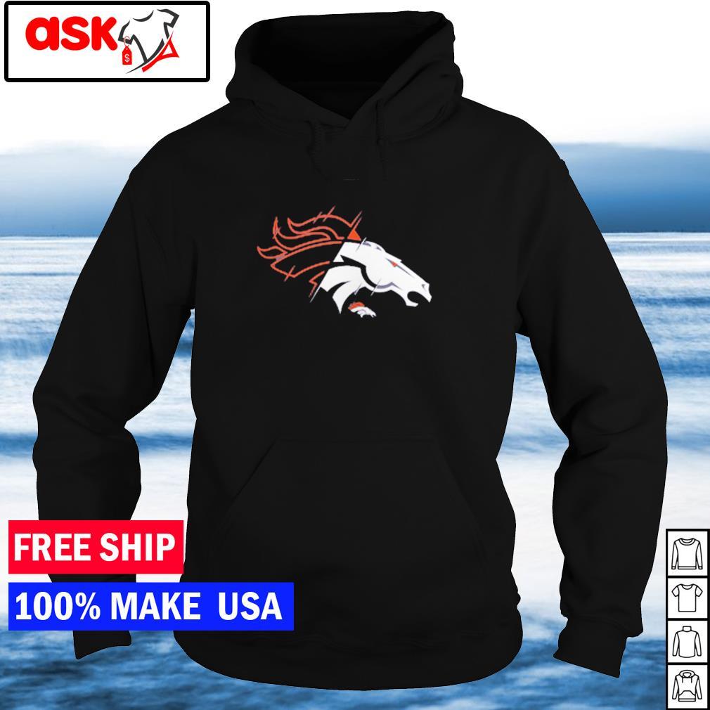 Denver Broncos logo team NFL s hoodie