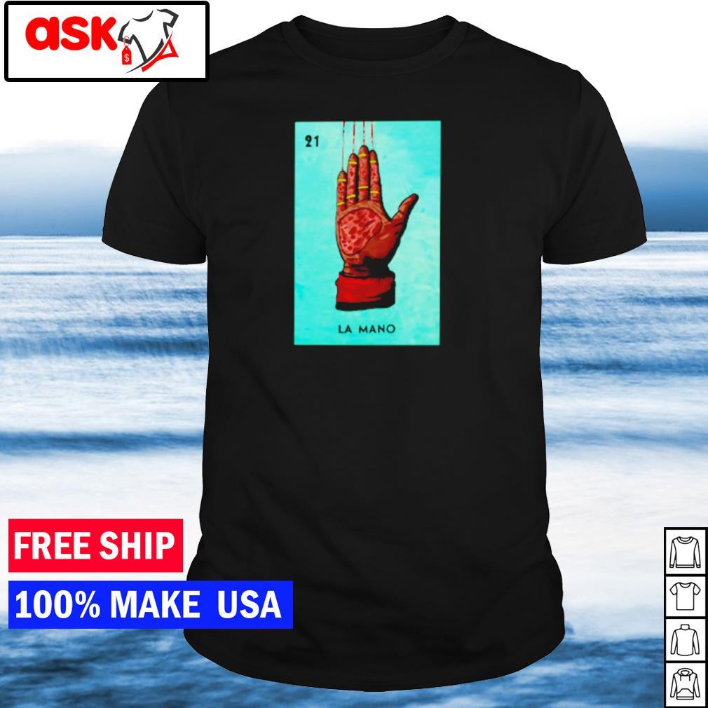 Freddy Krueger 21 la mano shirt
