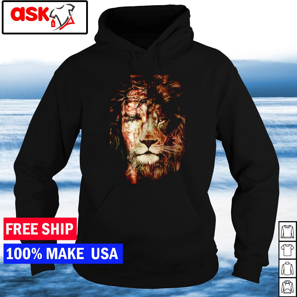 In Jesus and lion we trust s hoodie