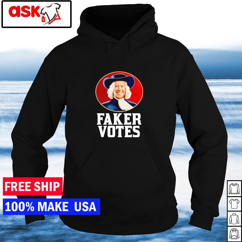 Joe Biden faker votes American President s hoodie