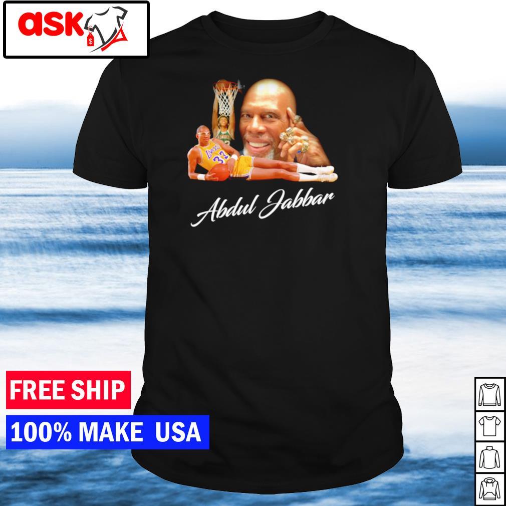 Kareem Abdul Jabbar shirt