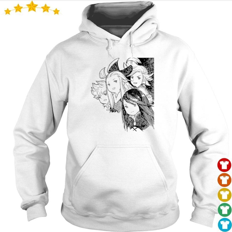 Agnès Oblige Tiz Arrior Edea Lee and Ringabel s hoodie