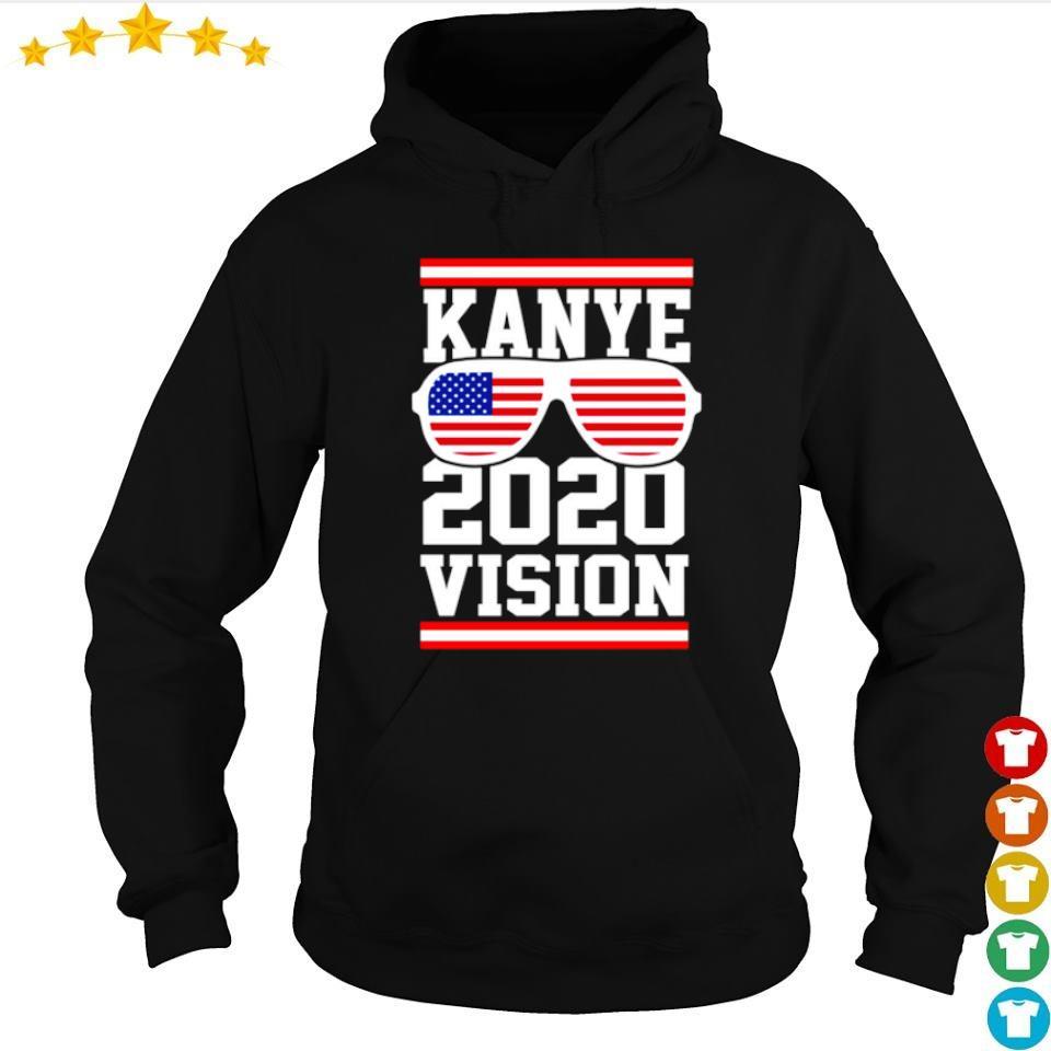 American Flag Kanye 2020 vision s hoodie