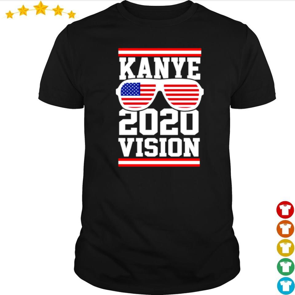 American Flag Kanye 2020 vision shirt