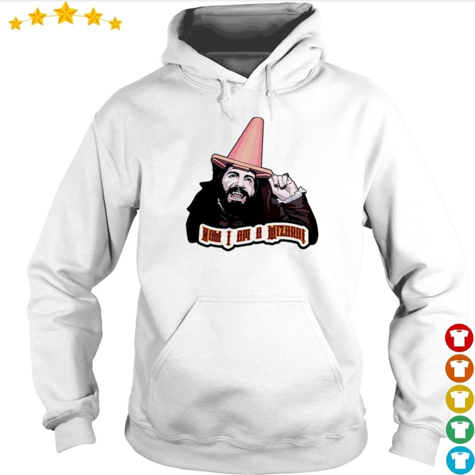 Awesome now I am a wizard s hoodie