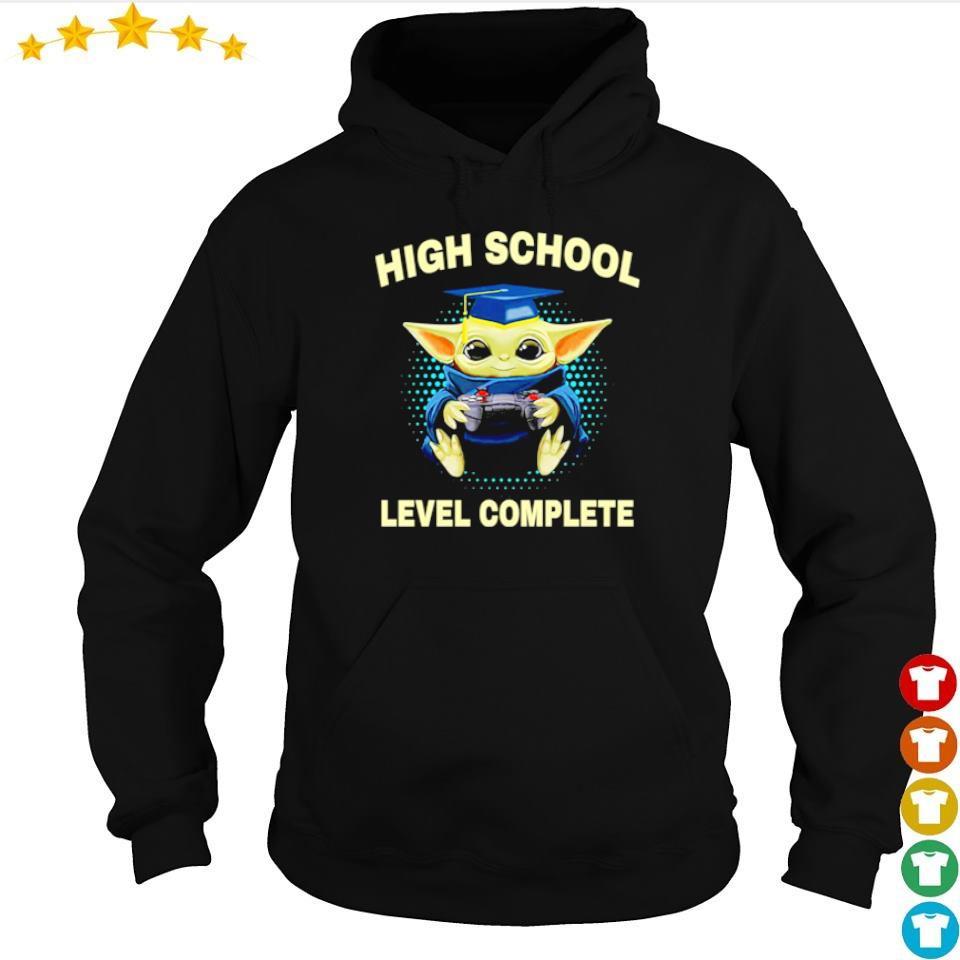 Baby Yoda high school level complete s hoodie