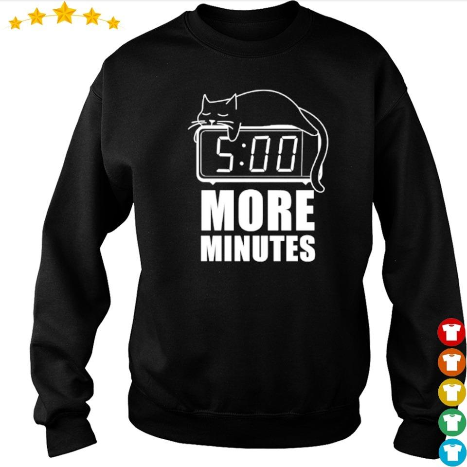 Cat sleep 5 more minutes s sweater