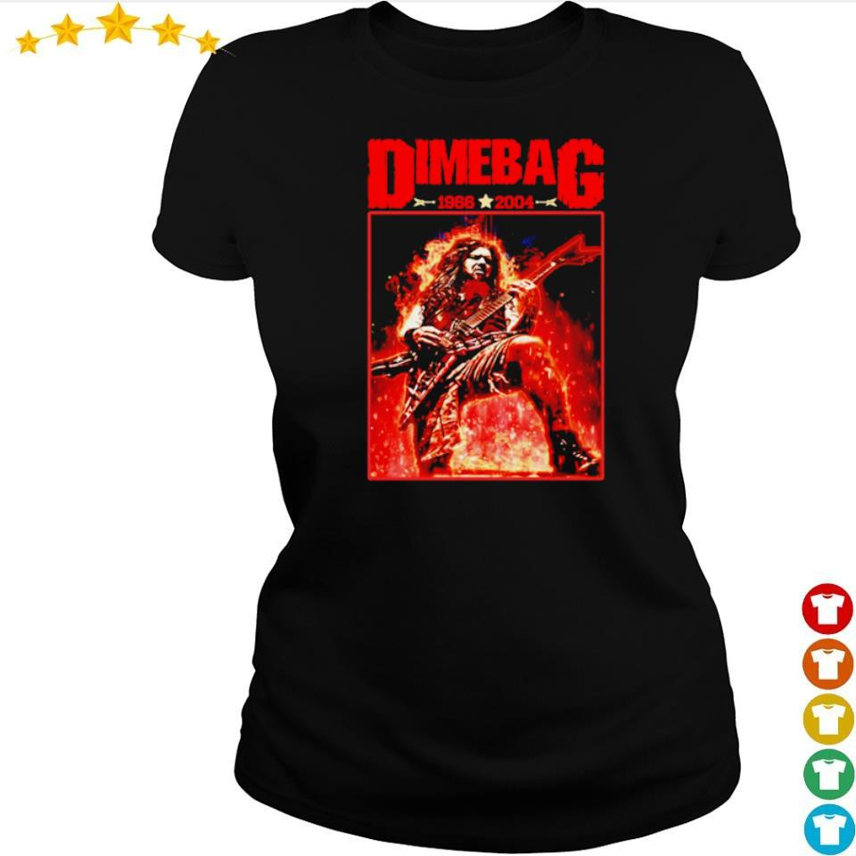 Dime Bag 1966 2004 s ladies tee