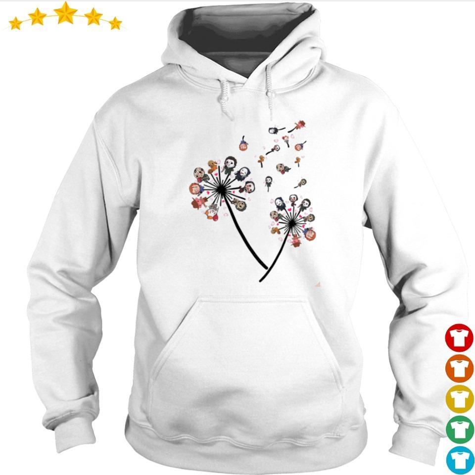 Flower horror chibi cute characters s hoodie