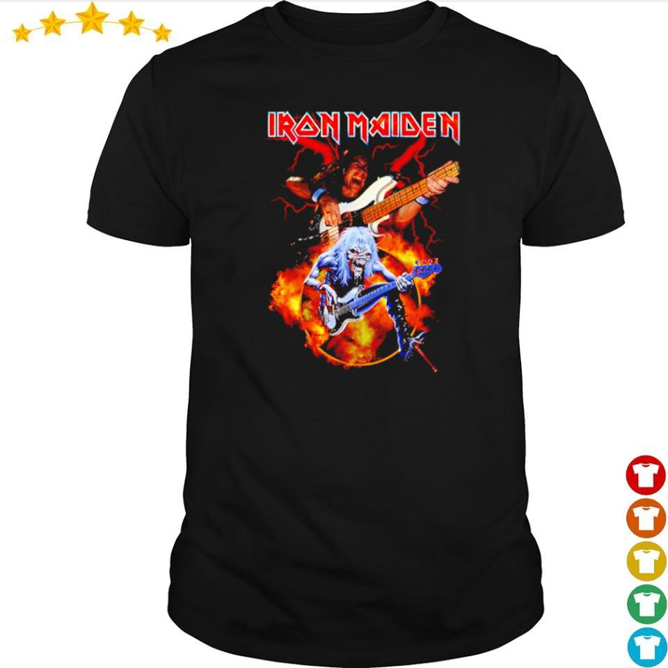 Iron Maiden guitar of the devils shirt
