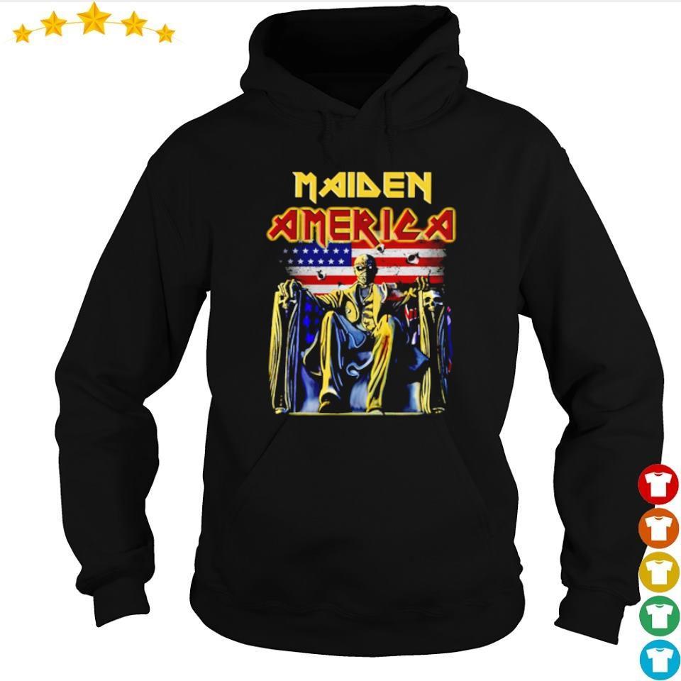 Iron Maidn America Flag s hoodie