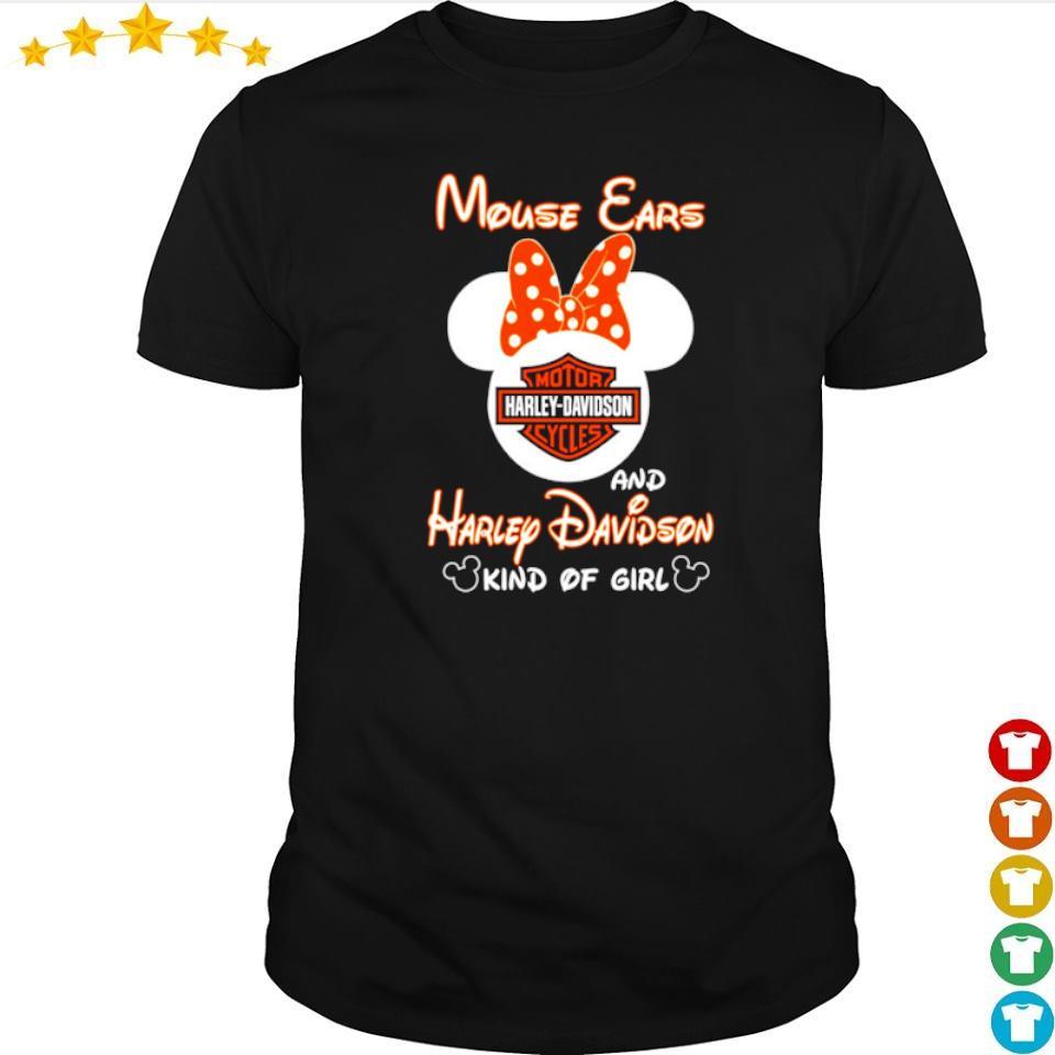 Mouse Ears and Harley Davidson kind of girl shirt