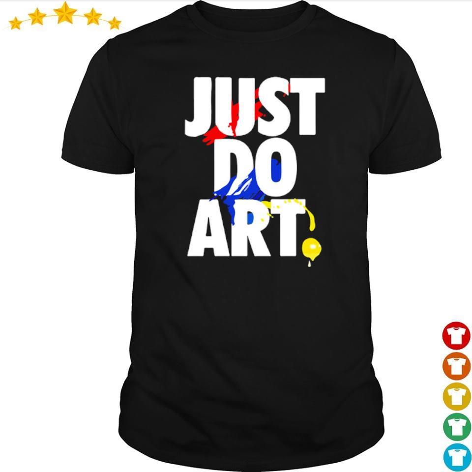 Nike Just Do Art shirt