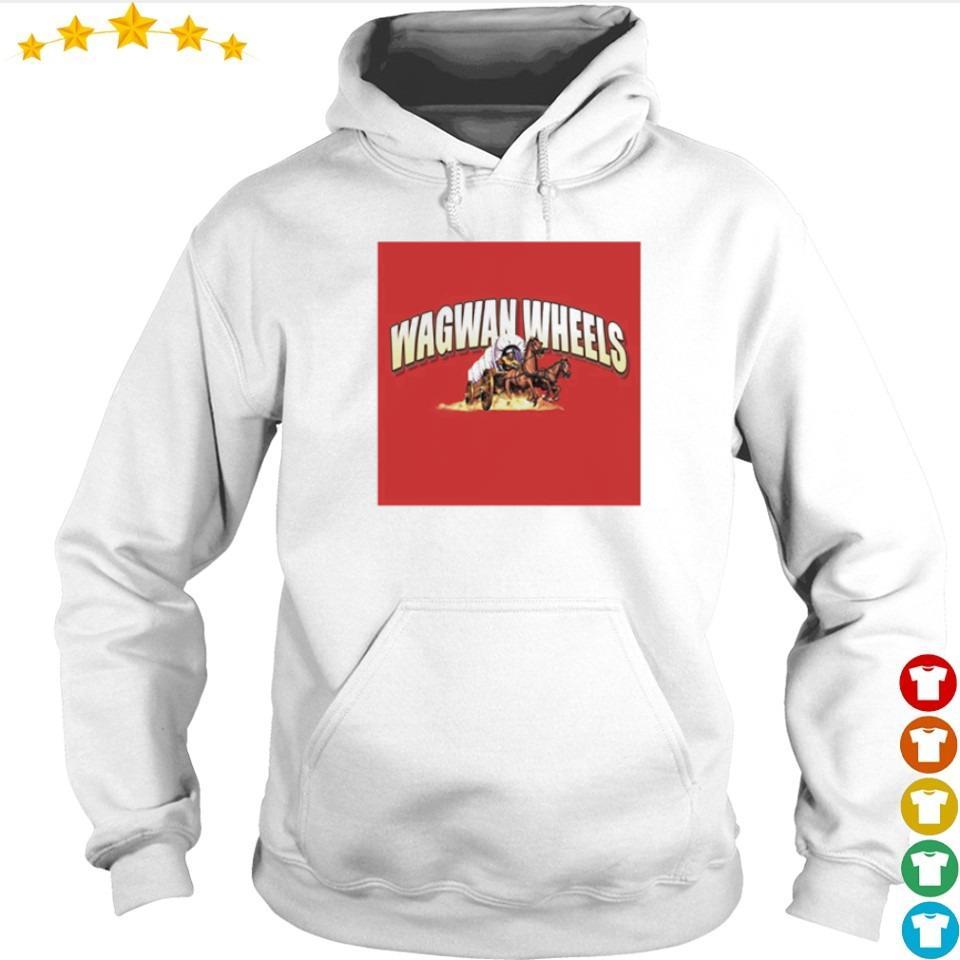 Official Wagwan Wheels s hoodie