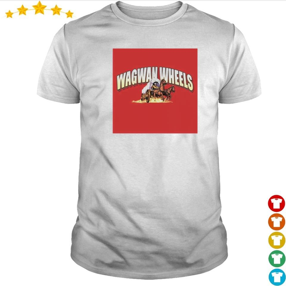 Official Wagwan Wheels shirt