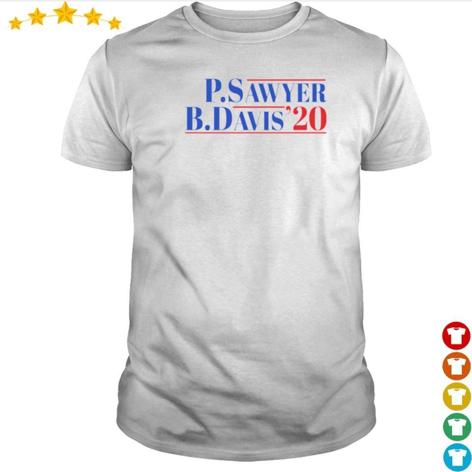 P.Sawter B.Davis'20 shirt