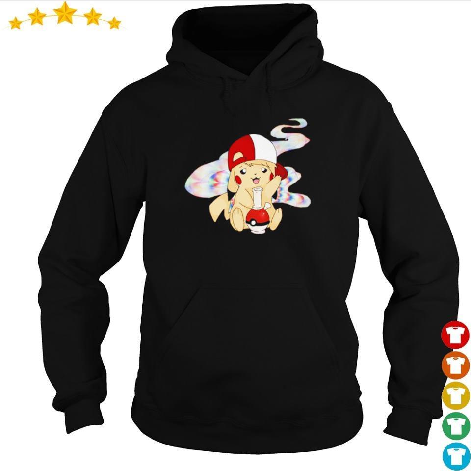 Pikachu smoke weed s hoodie