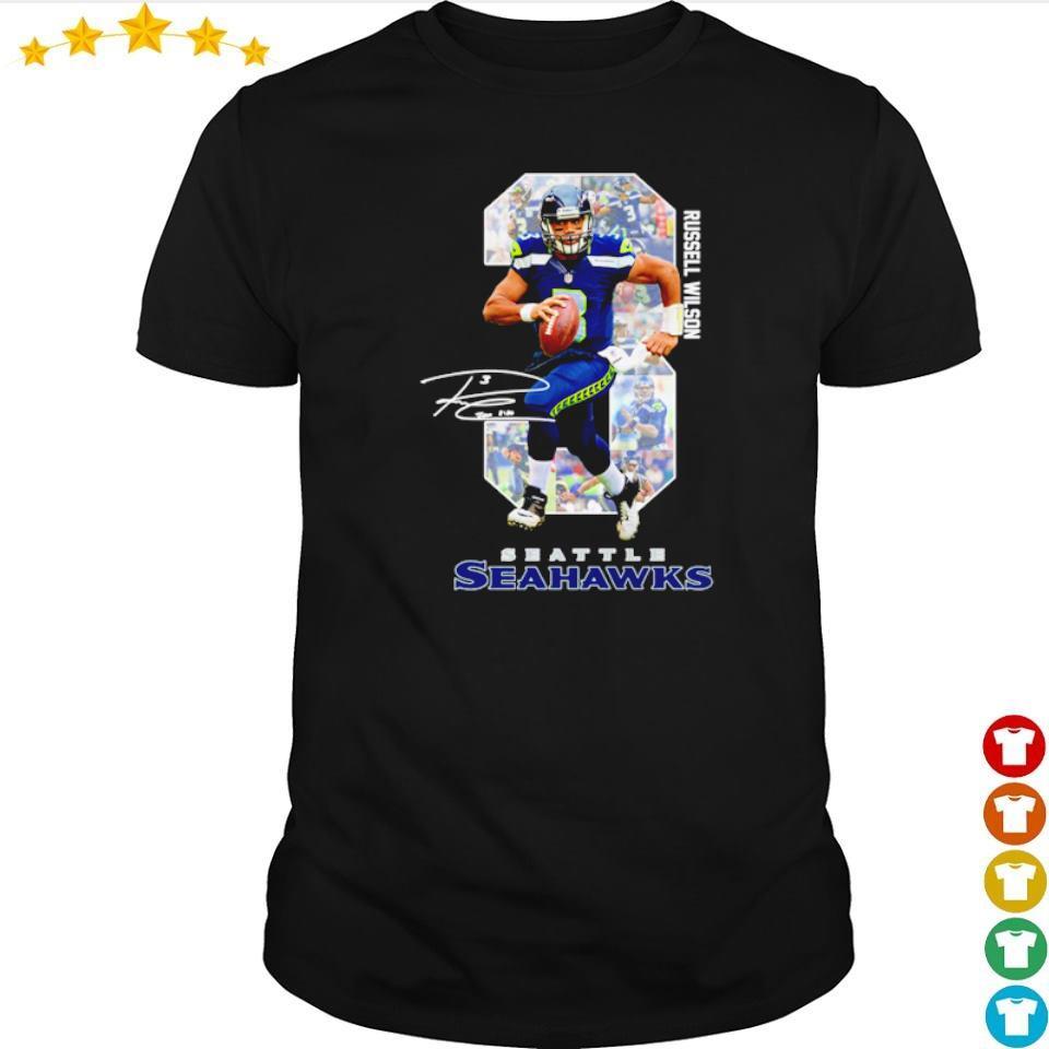 Russell Wilson Seattle Seahawks shirt