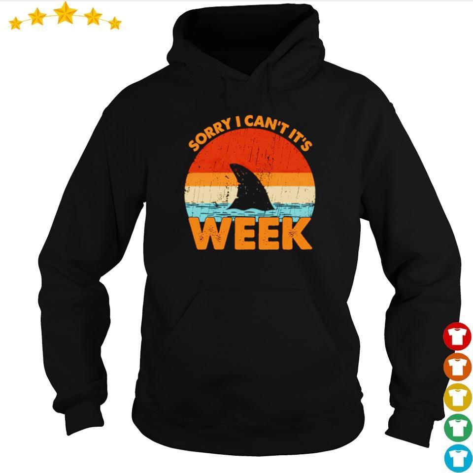 Shark sorry I can't it's week vintage s hoodie