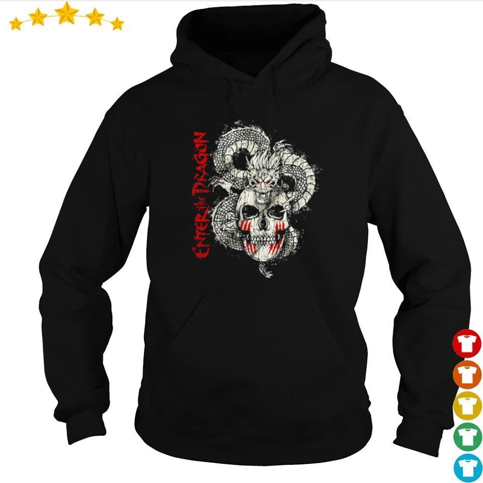 Skull Enter The Dragon s hoodie