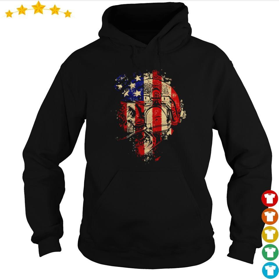 Skull Patriot The Operator s hoodie