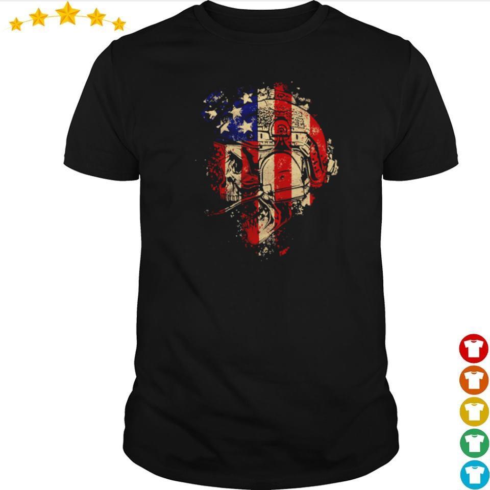 Skull Patriot The Operator shirt