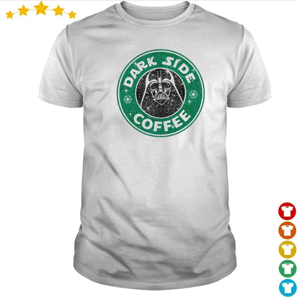 Starbucks Darth Vader Dark Side Coffee shirt