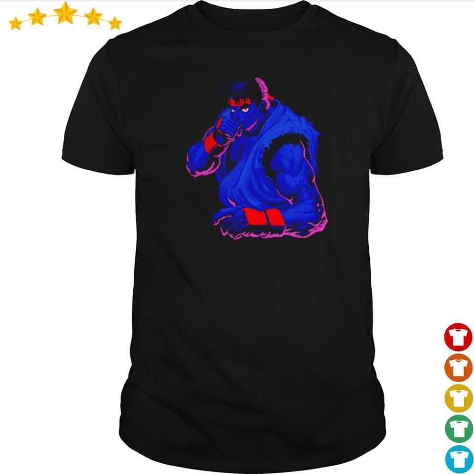 Street Fighter Black Ryu Dark Determination shirt
