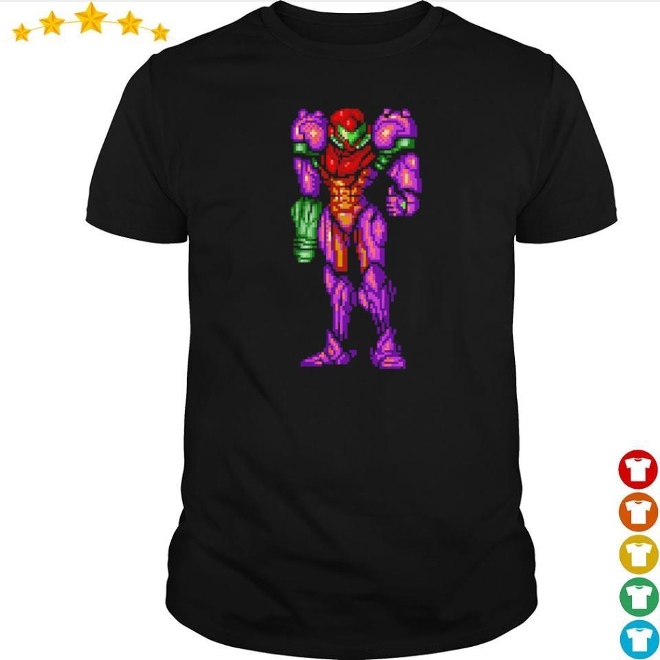 Super Metroid Samus Aran Thumbs Up shirt