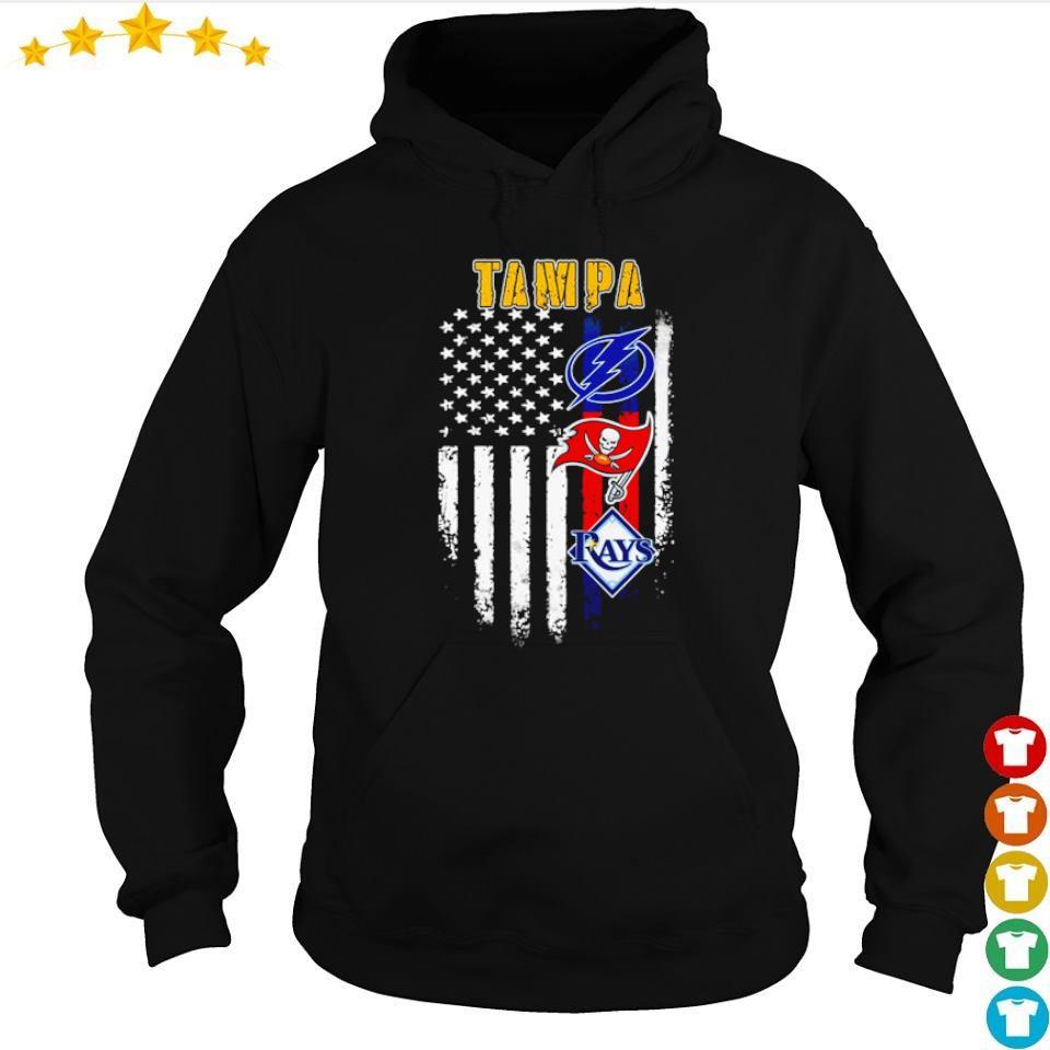 Tampa Bay Buccaneers Tampa Bay Rays Tampa Bay Lightning s hoodie