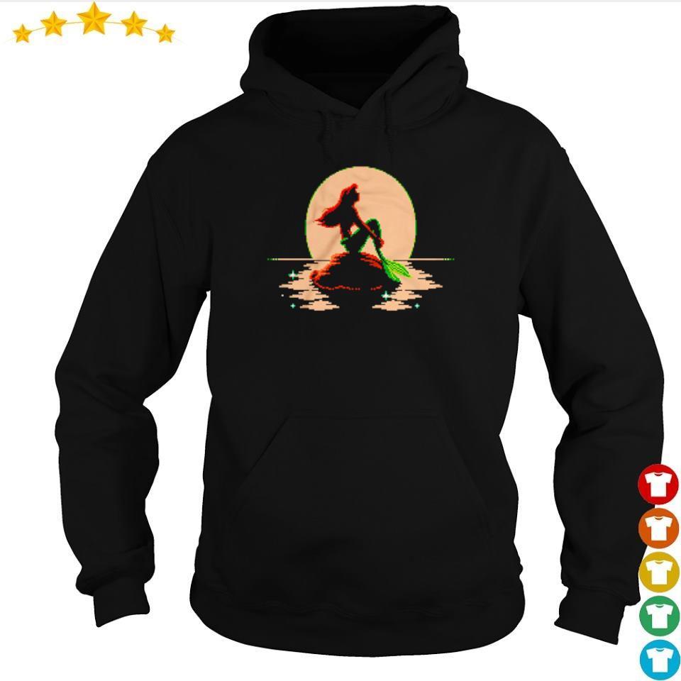 The Little Mermaid Ariel Sitting s hoodie