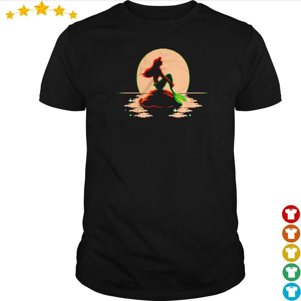 The Little Mermaid Ariel Sitting shirt