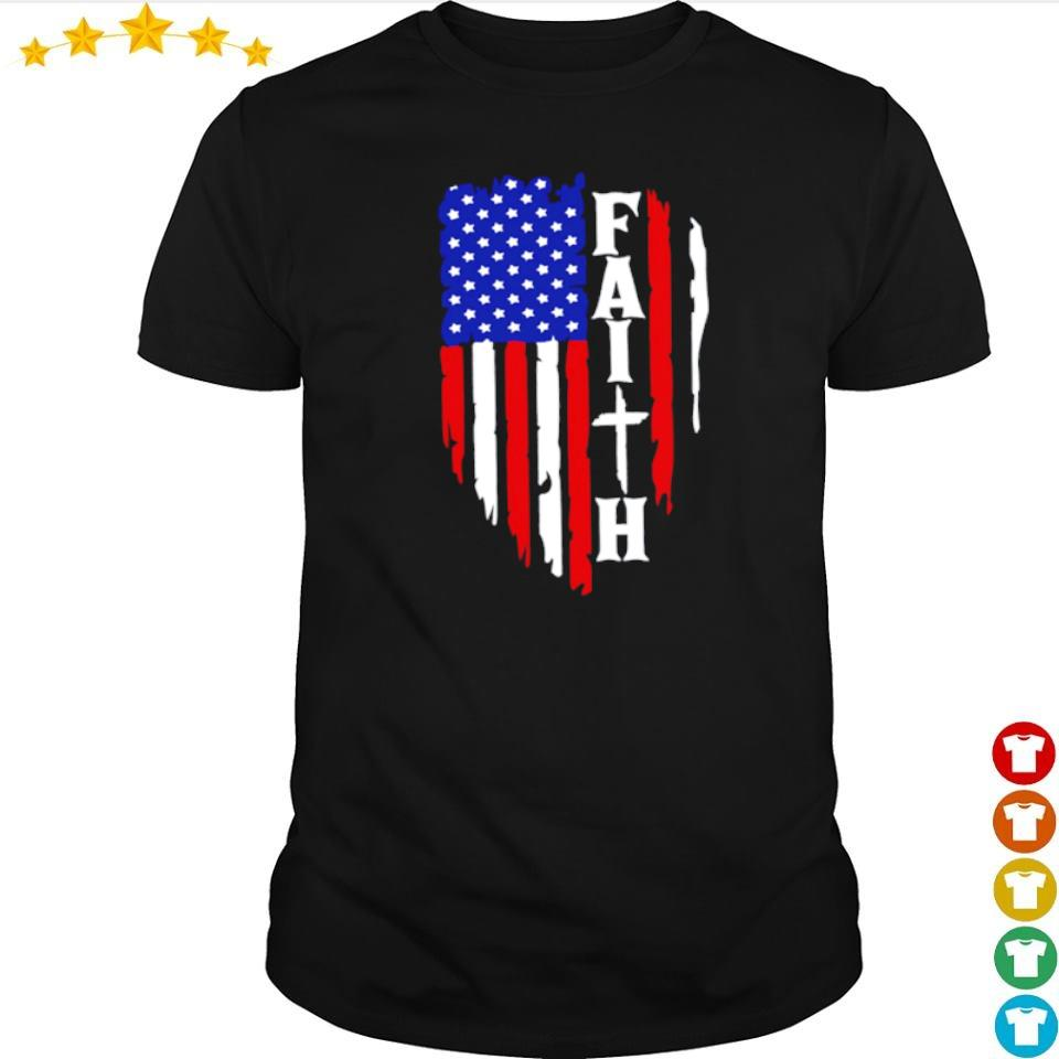 American Flag Faith shirt