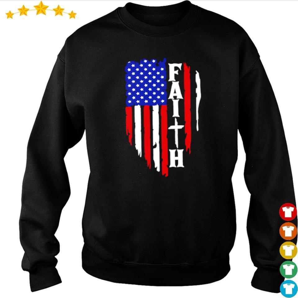 American Flag Faith s sweater