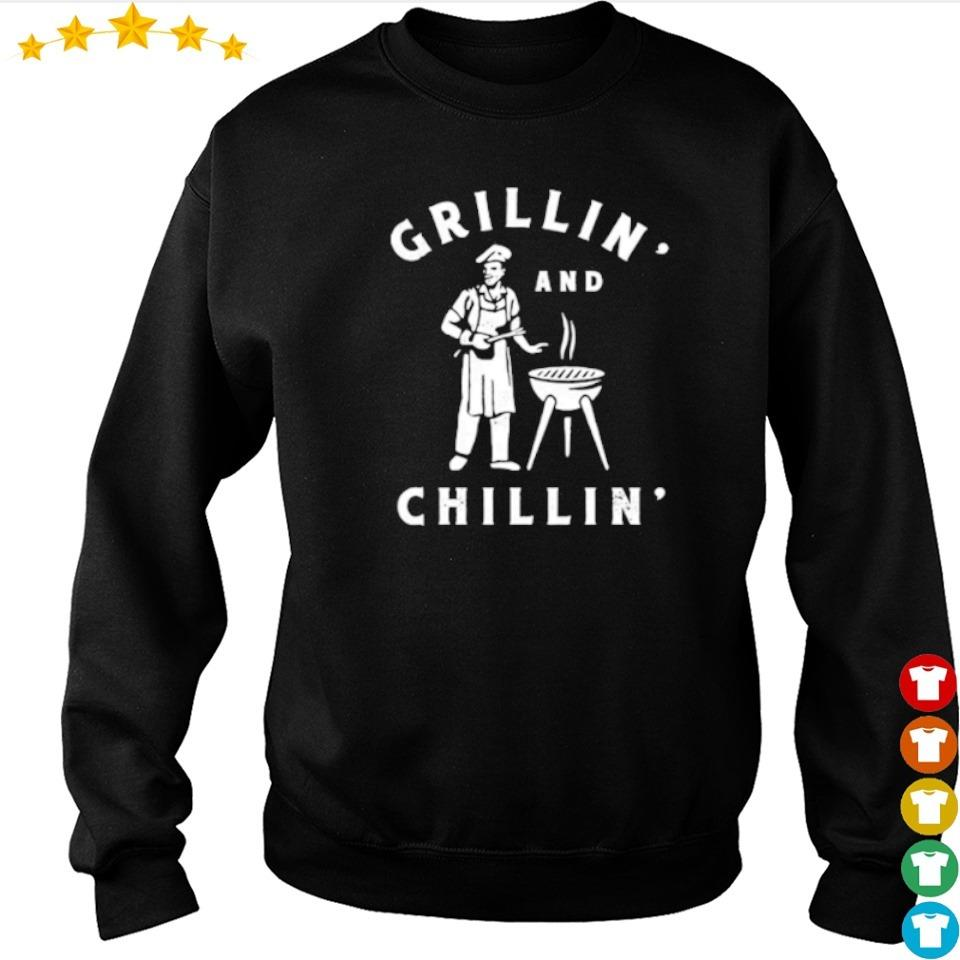 Awesome Grillin and Chillin' s sweater
