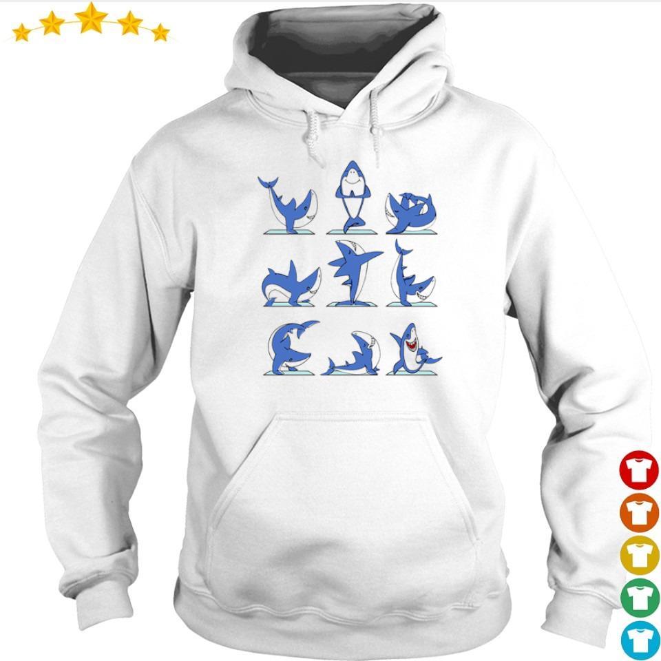 Awesome Shark Master Yoga s hoodie