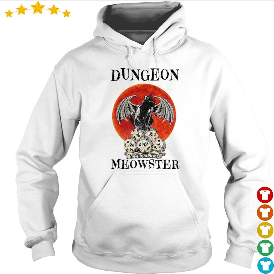 Black cat dungeon Meowster s hoodie