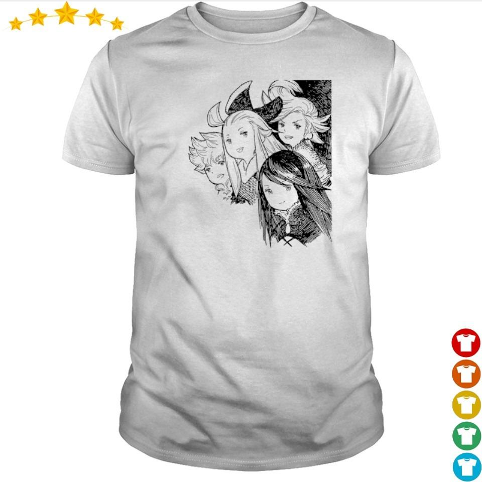 Bravely Default Brave Heroes shirt