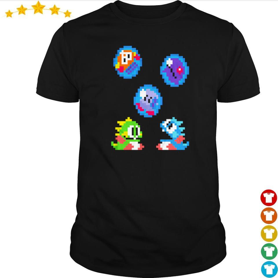 Bubble Bobble's Bubby and Bobby shirt