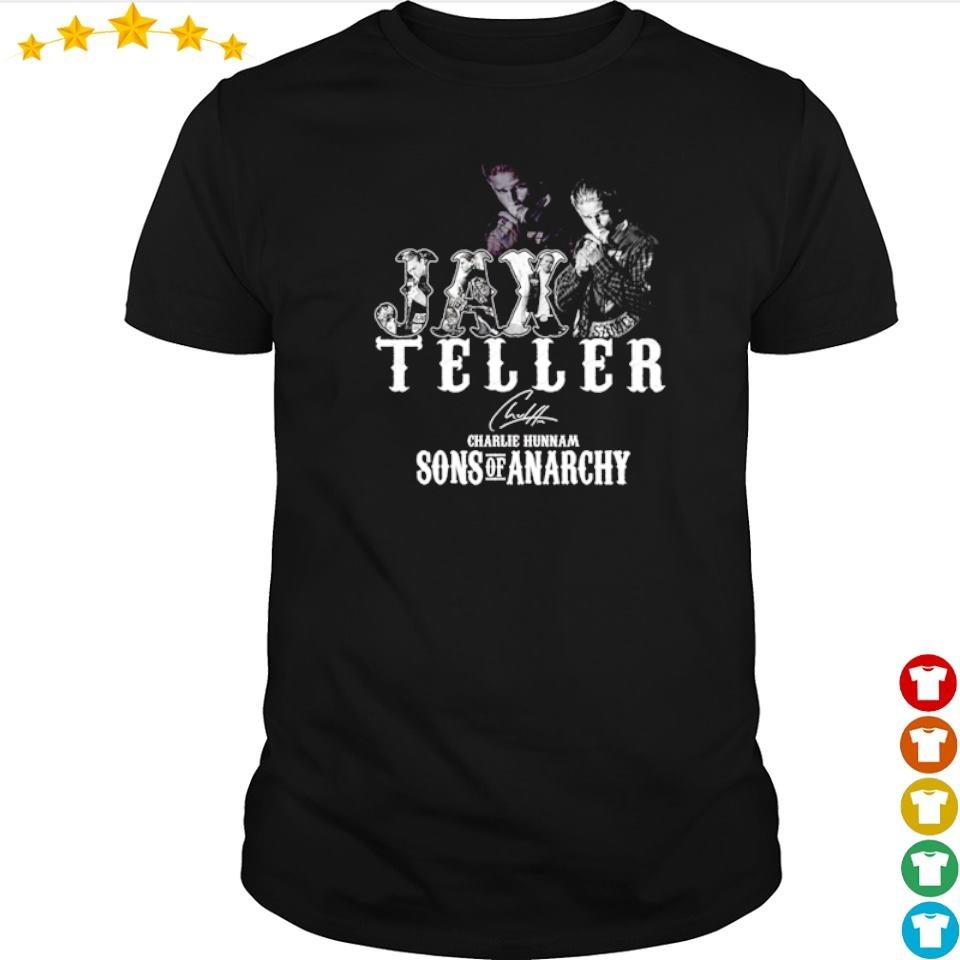 Charlie Hunnam Jax Teller Sons Of Anarchy shirt