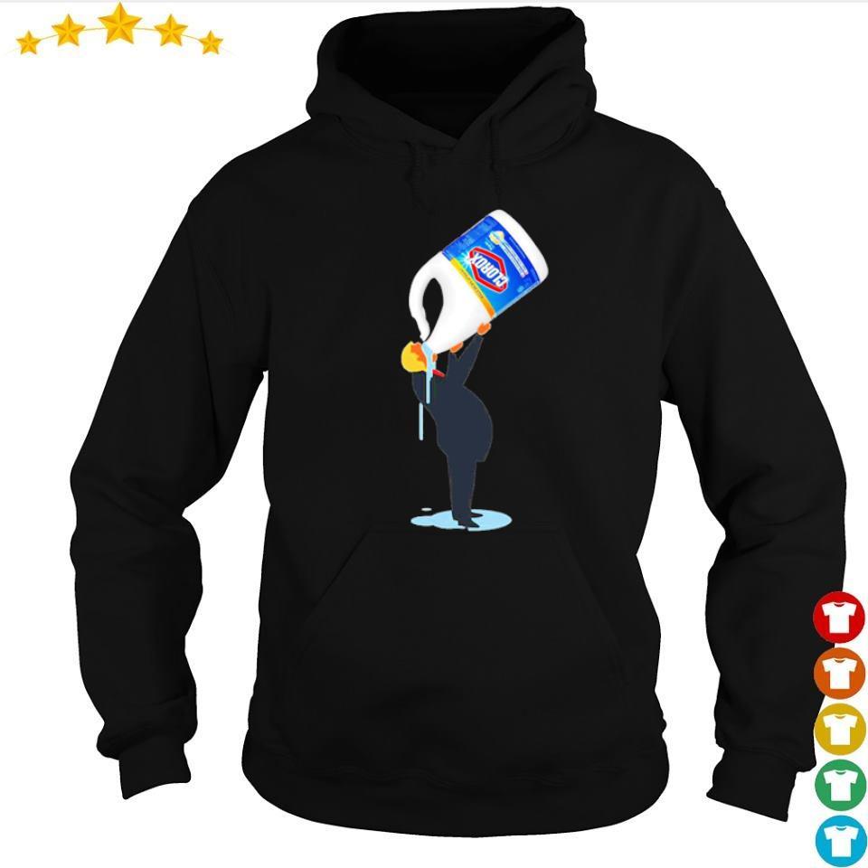 Donald Trump drinking Clorox s hoodie