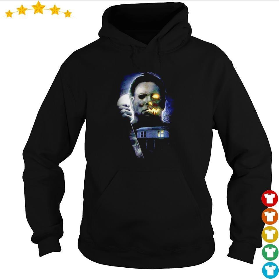 Horror movie Michael Myers Halloween night s hoodie