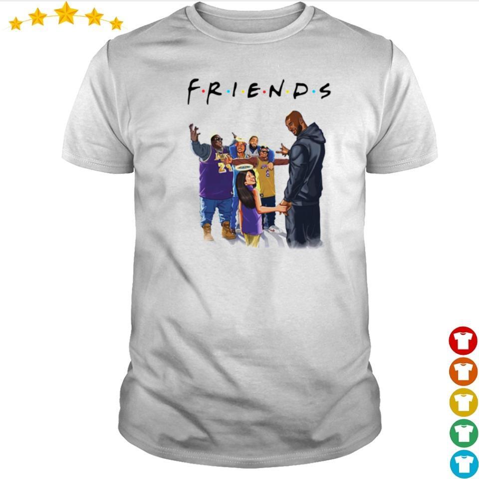 Kobe Bryant and daughter Biggie Tupac and Friends shirt